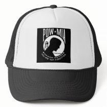 POW - MIA TRUCKER HAT