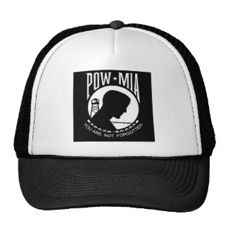 POW - MIA TRUCKER HAT