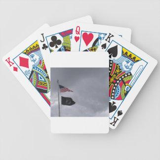 POW/MIA y banderas americanas #2 Baraja Cartas De Poker
