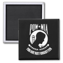 POW*MIA You Are Not Forgotten - Magnet