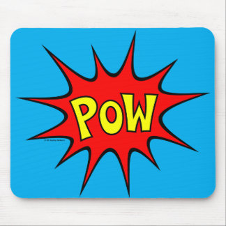 Pow! Mouse Pad
