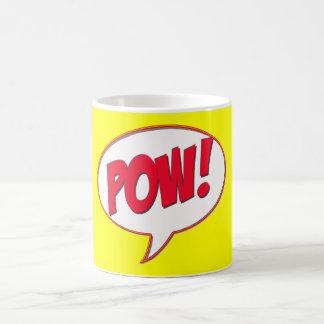 Pow! Classic White Coffee Mug