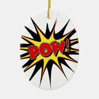 Pow! Ornament