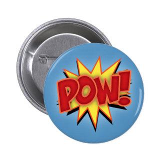 Pow! Pinback Button