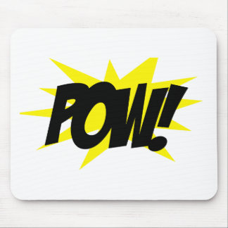 POW!.png Mouse Pad