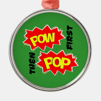 POW POP ORNAMENTS