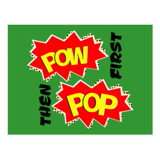 POW POP POSTCARD