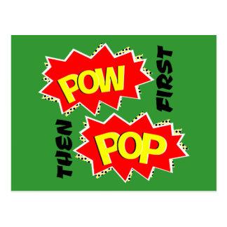POW POP POSTCARD