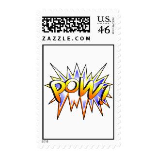 Pow Postage Stamp