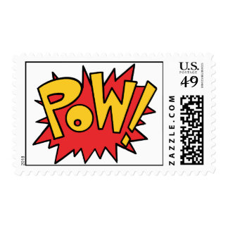 Pow! Postage Stamps