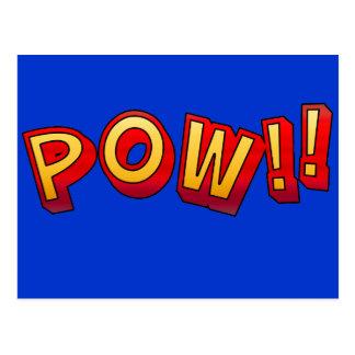 POW!! POSTCARD