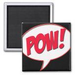 Pow! Refrigerator Magnet