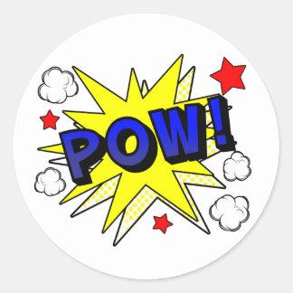 POW! Sticker Sheet