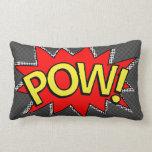 POW! - Superhero Comic Book Bubble - Custom BG Pillow