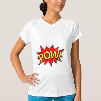 POW! - Superhero Comic Book Red/Yellow Bubble T-Shirt