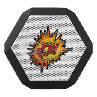 Pow Superhero Fight Black Bluetooth Speaker
