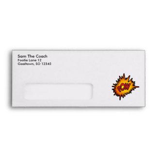 Pow Superhero Fight Envelope