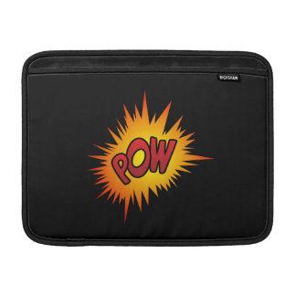 Pow Superhero Fight MacBook Air Sleeves
