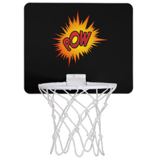 Pow Superhero Fight Mini Basketball Backboards