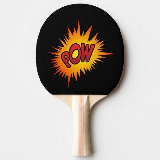Pow Superhero Fight Ping Pong Paddle