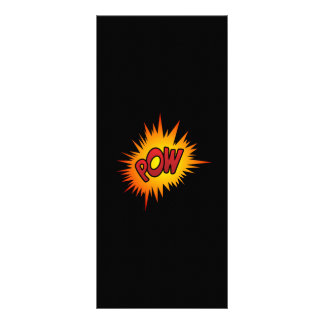 Pow Superhero Fight Rack Card