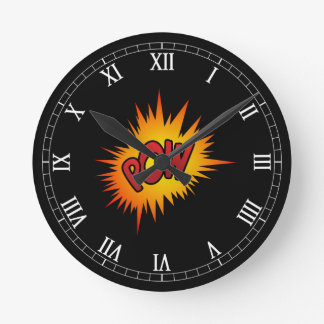 Pow Superhero Fight Round Clock