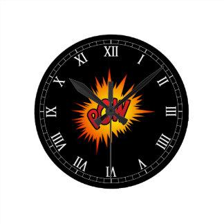Pow Superhero Fight Round Clock