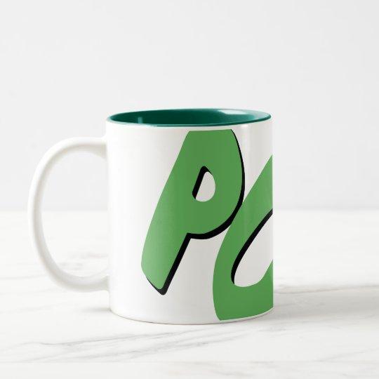 POW!! Two-Tone COFFEE MUG
