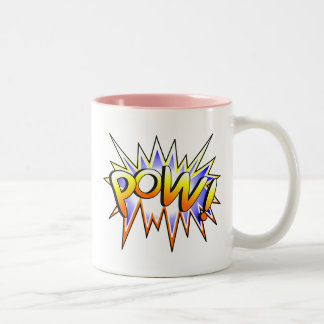 Pow Two-Tone Coffee Mug