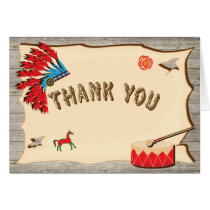 Pow Wow American Indian Thank you note cards