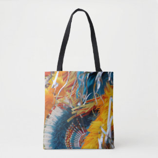 pow wow colors #1 tote bag