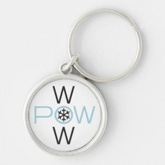 POW WOW Key Chain