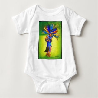 Pow Wow Lady Dancer Baby Bodysuit