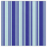 [ Thumbnail: Powder Blue and Blue Lined/Striped Pattern Fabric ]