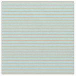 [ Thumbnail: Powder Blue and Brown Colored Striped Pattern Fabric ]