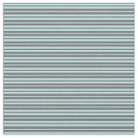 [ Thumbnail: Powder Blue and Dim Gray Colored Stripes Fabric ]