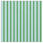 [ Thumbnail: Powder Blue and Forest Green Colored Pattern Fabric ]