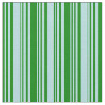[ Thumbnail: Powder Blue and Green Colored Pattern Fabric ]