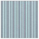 [ Thumbnail: Powder Blue and Light Slate Gray Stripes Fabric ]