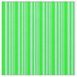 [ Thumbnail: Powder Blue and Lime Colored Striped Pattern Fabric ]