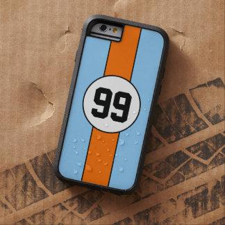 Powder Blue and Orange Livery Custom iPhone 6 case