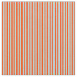[ Thumbnail: Powder Blue and Red Striped Pattern Fabric ]