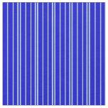 [ Thumbnail: Powder Blue & Blue Stripes Pattern Fabric ]