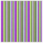 [ Thumbnail: Powder Blue, Dark Olive Green, Light Green, Violet Fabric ]