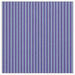 [ Thumbnail: Powder Blue & Dark Slate Blue Pattern Fabric ]