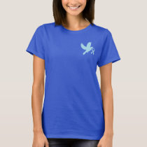 Powder Blue Dove of Hope T-Shirt