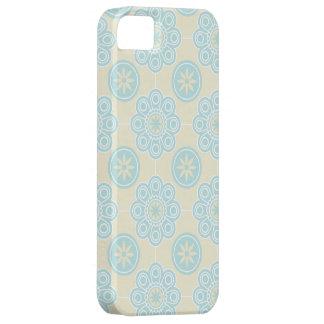 Powder Blue Floral iPhone Case iPhone 5 Case
