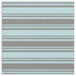 [ Thumbnail: Powder Blue & Grey Colored Lined Pattern Fabric ]