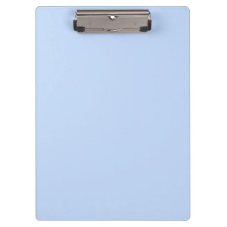 Powder Blue Hydrangea Clipboard