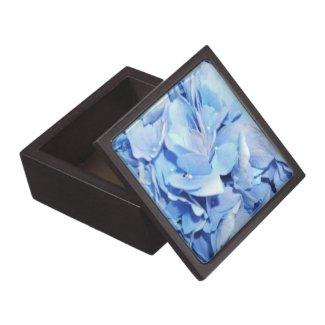 Powder Blue Hydrangea Premium Gift Box